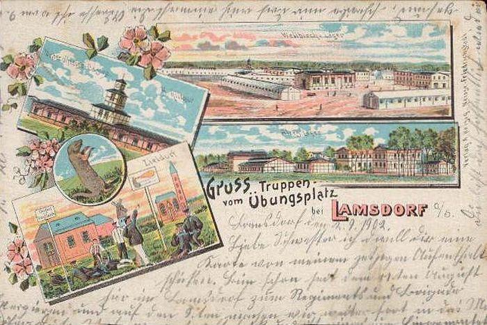 Łambinowice 1890-1902 poligon