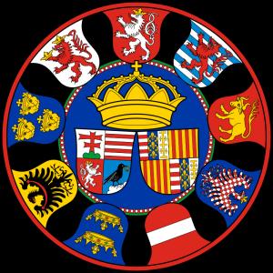 Herb Śląska na tarczy herbowej króla Węgier Macieja Korwina