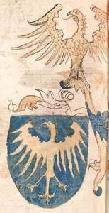 Herb księcia cieszyńskiego (ok. 1475–1500)