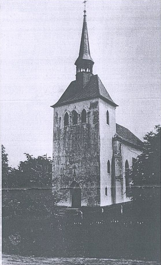 Klucznik 1920-40 kościół ewangelicki