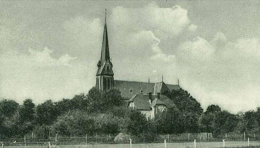 Klucznik 1930-40 kościół katolicki