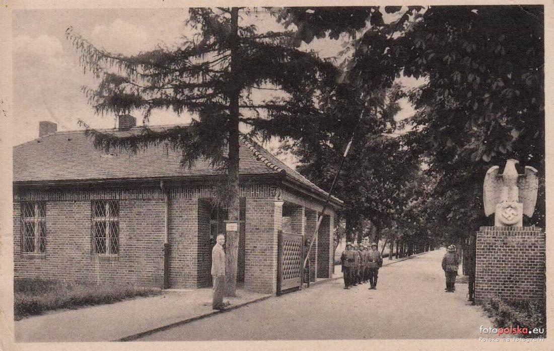 Lata 1933-1944 , Wartownia na terenie obozu II (Britenlager - Stalag VIII B