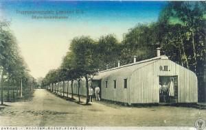 1910-15 Blaszany barak przeznaczony dla oficerów