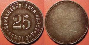 Lamsdorf pieniądz żołnierski 1