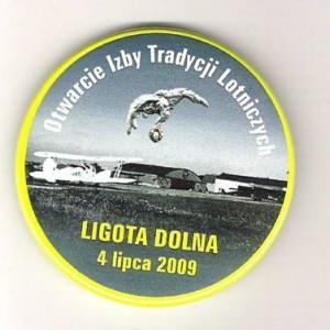 Znaczek Otwarcie Izby Tradycji Lotniczych 2009