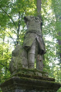 Pokój- na Wzgórzu Minerwy pomnik Fryderyka Wielkiego z 1790 roku 2