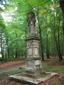 Pokój- strzelista wieżyczka neoklasyczna poświęcona księciu Eugenowi Erdmannowi z 1880r. 1