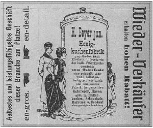 Beyer- reklama cukierni