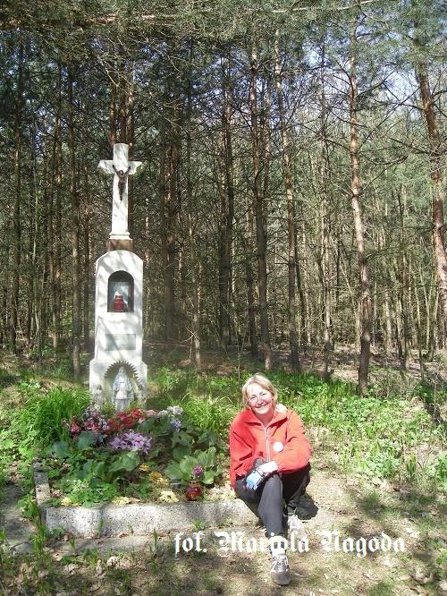 IS_2009 krzyż z ''Kokotkiem'' droga Biadacz- Masów