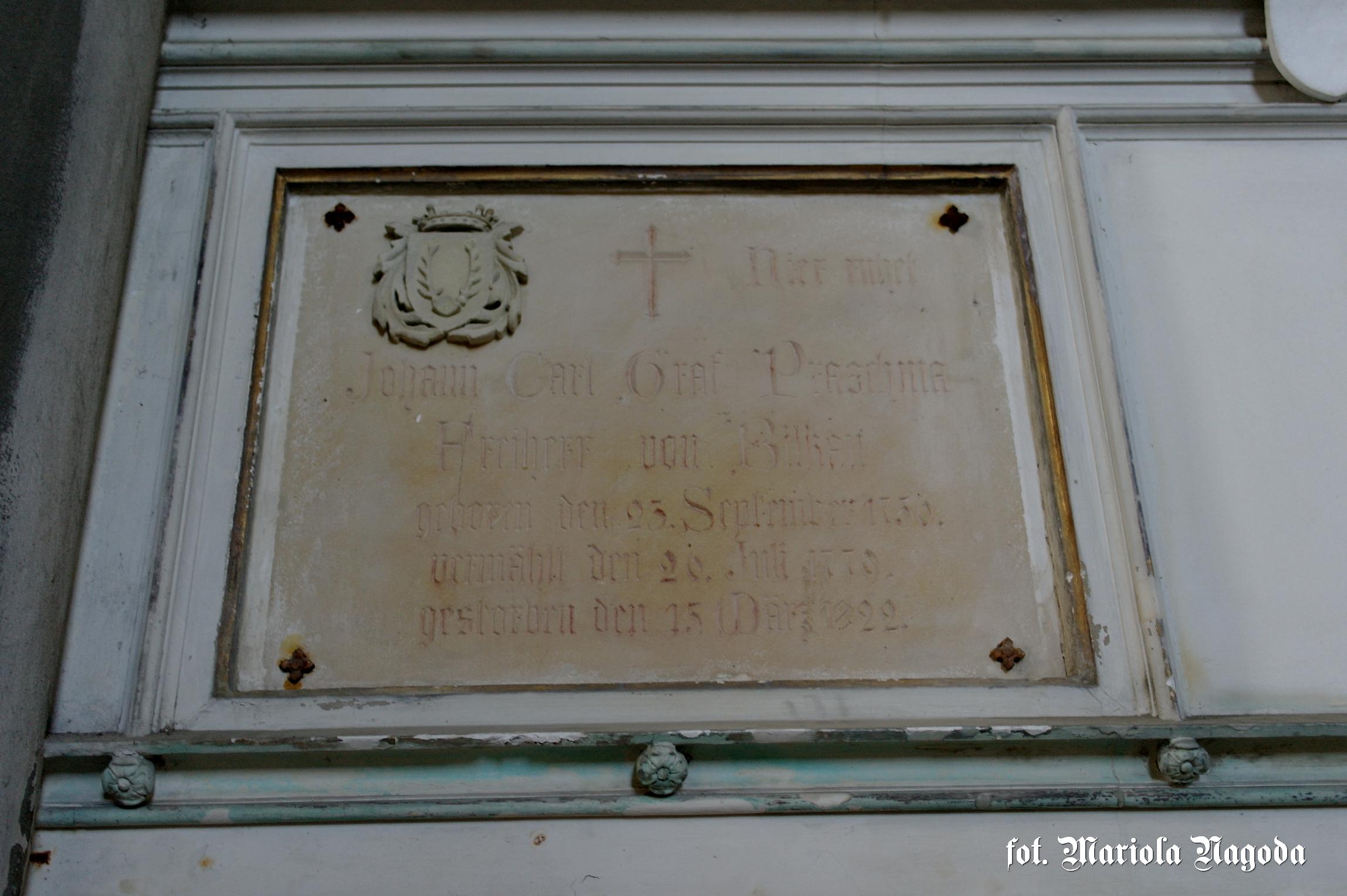 1779 Johann Carl Graf