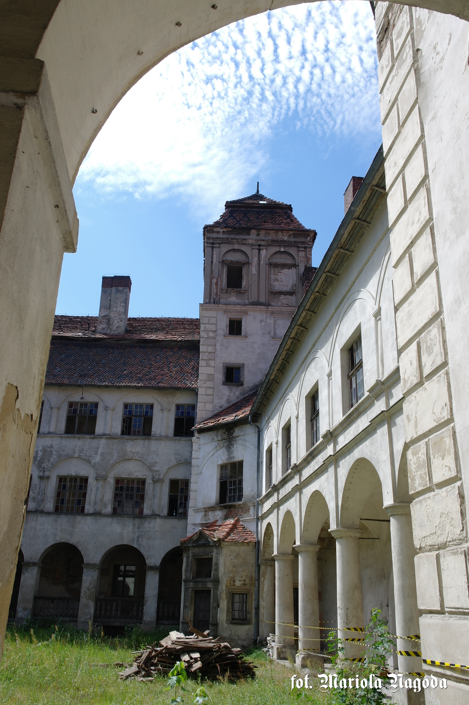 Skrzydło zamku zachodnie, wieża A