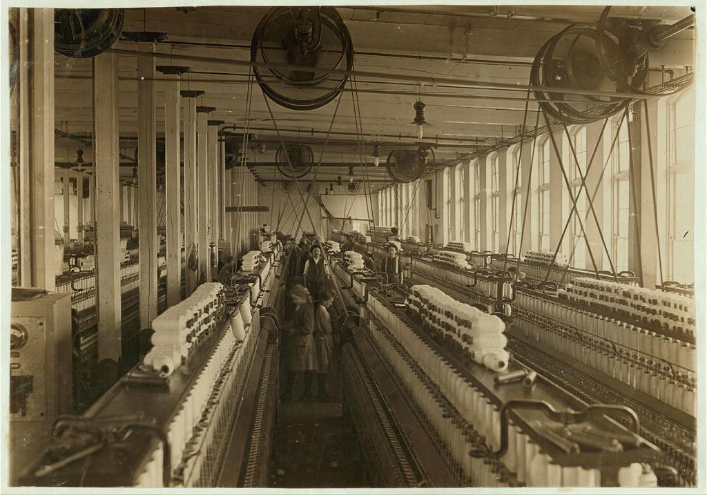 Przędzalnia, Cherryville, North Carolina 1908