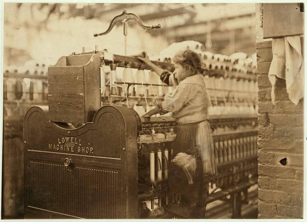 Przędzalnia, Macon, Georgia 1909