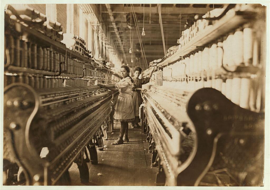 Przędzalnia, Macon, Georgia1909