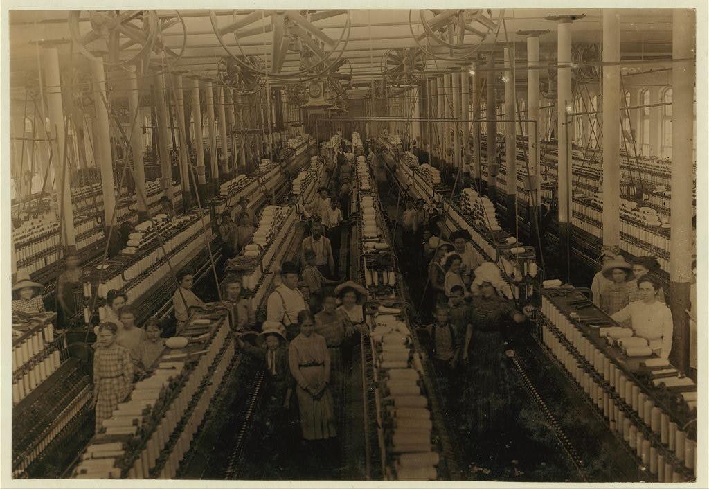 Przędzalnia, Magnolia, Mississippi 1911