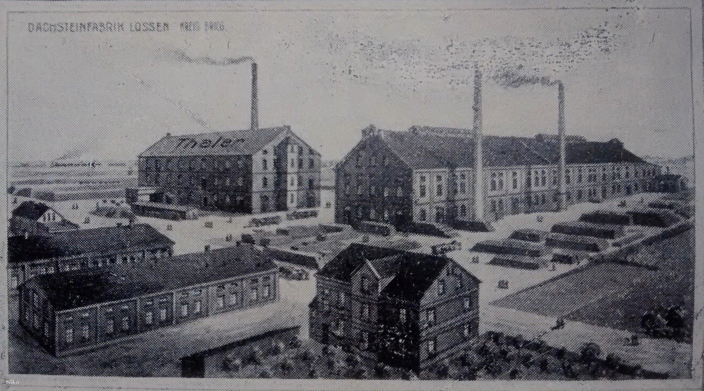 Łosiów f-ka dachów 1933