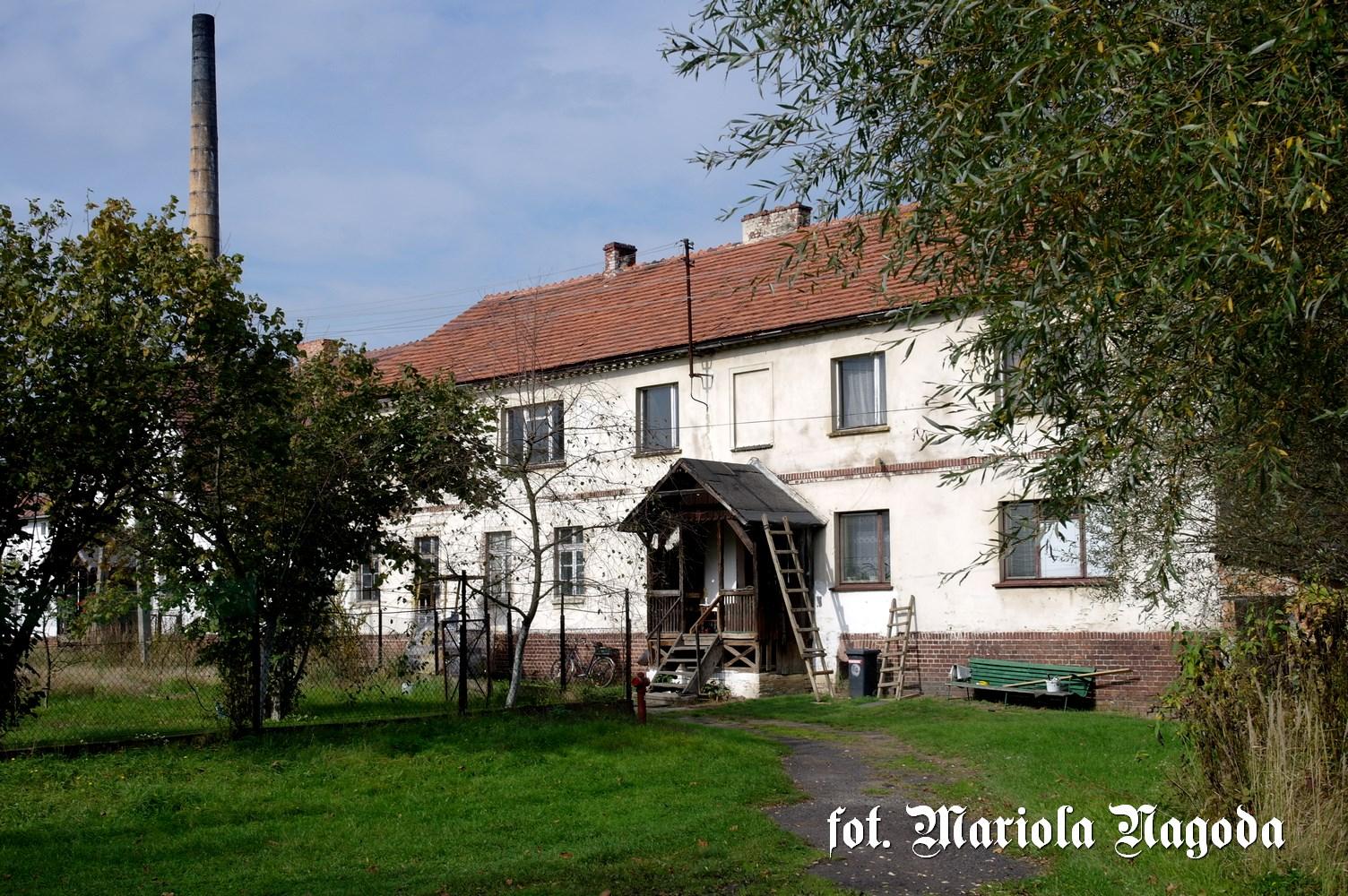 Szydłów stare domy k. cegielni 3