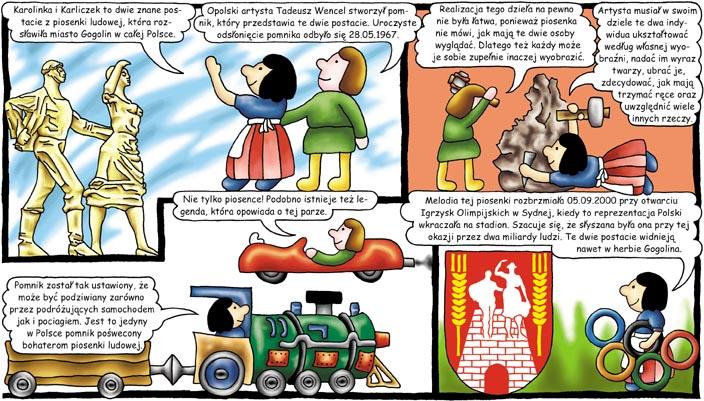 Karolinka i Karliczek komiks