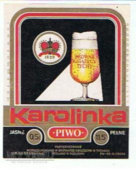 Piwo Karolinka browar Tychy 2