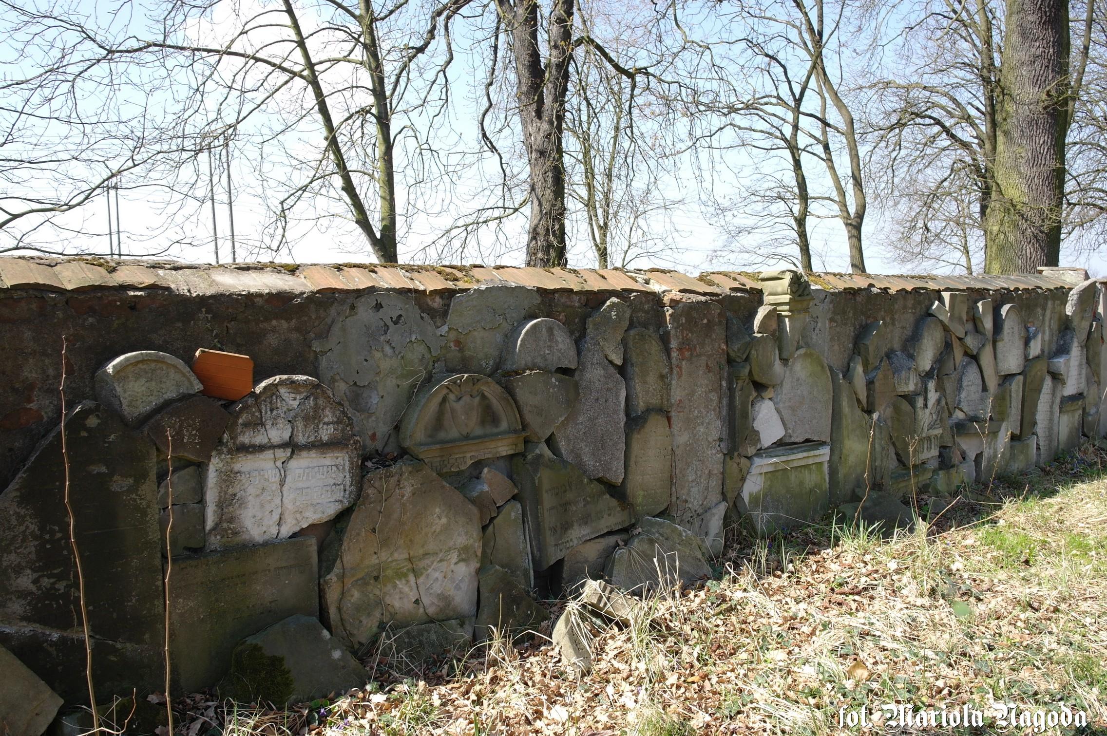 dobrodzien-cmentarz-zydowski-lapidarium
